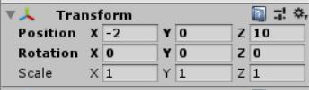 box3の位置の数値