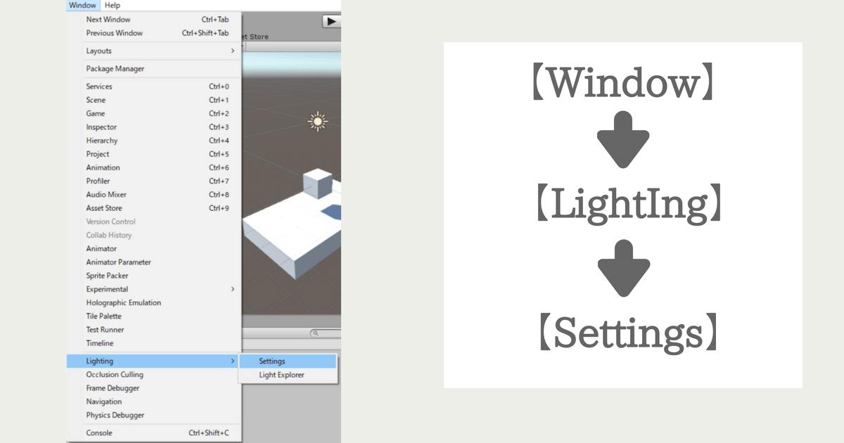 window-Lightngの様子