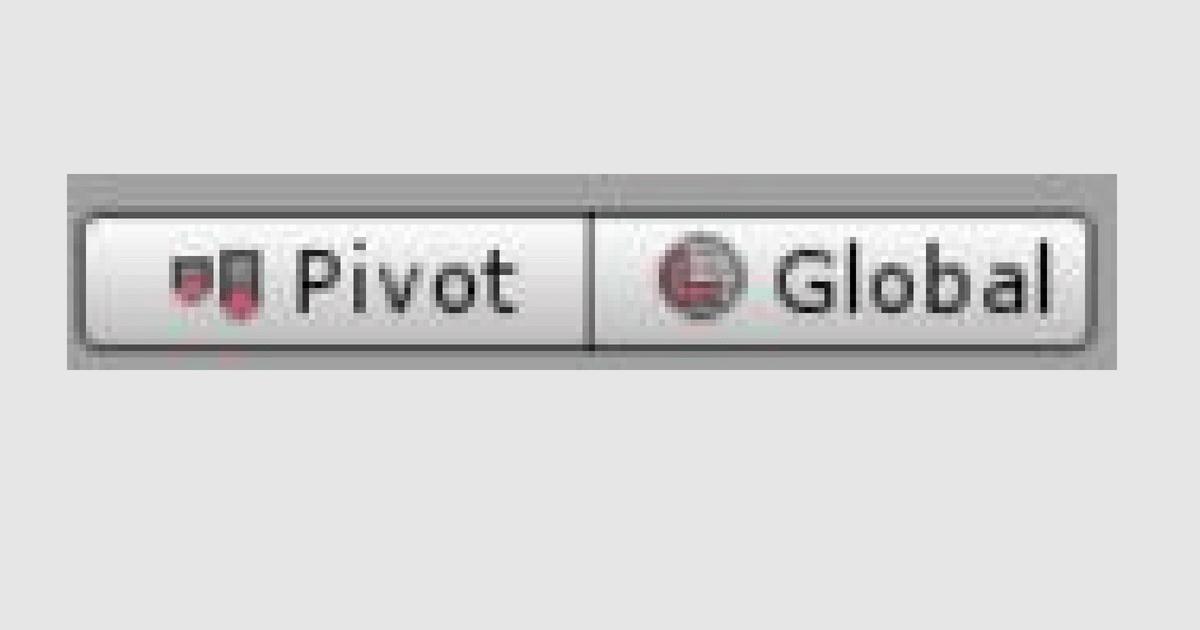 pivot-Gloablボタンの説明