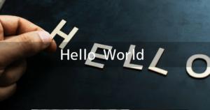 【Unity&C#】Hello Worldを表示する【基本知識】
