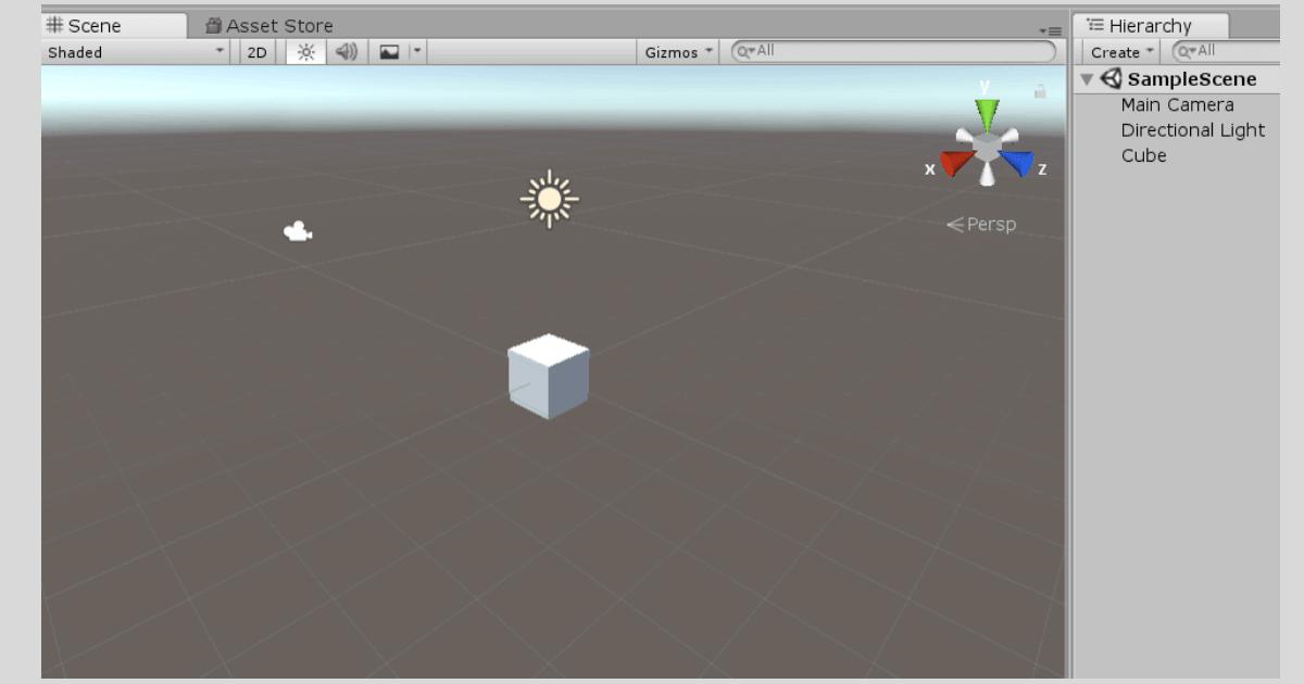 Unityで元となるオブジェクトを作成する