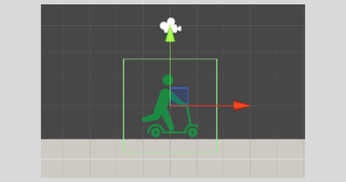 Unityでコライダーの形状を変更する