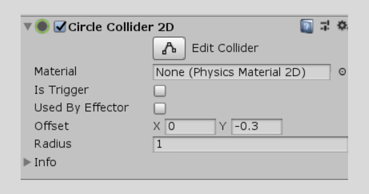 UnityでColliderの形状を変更
