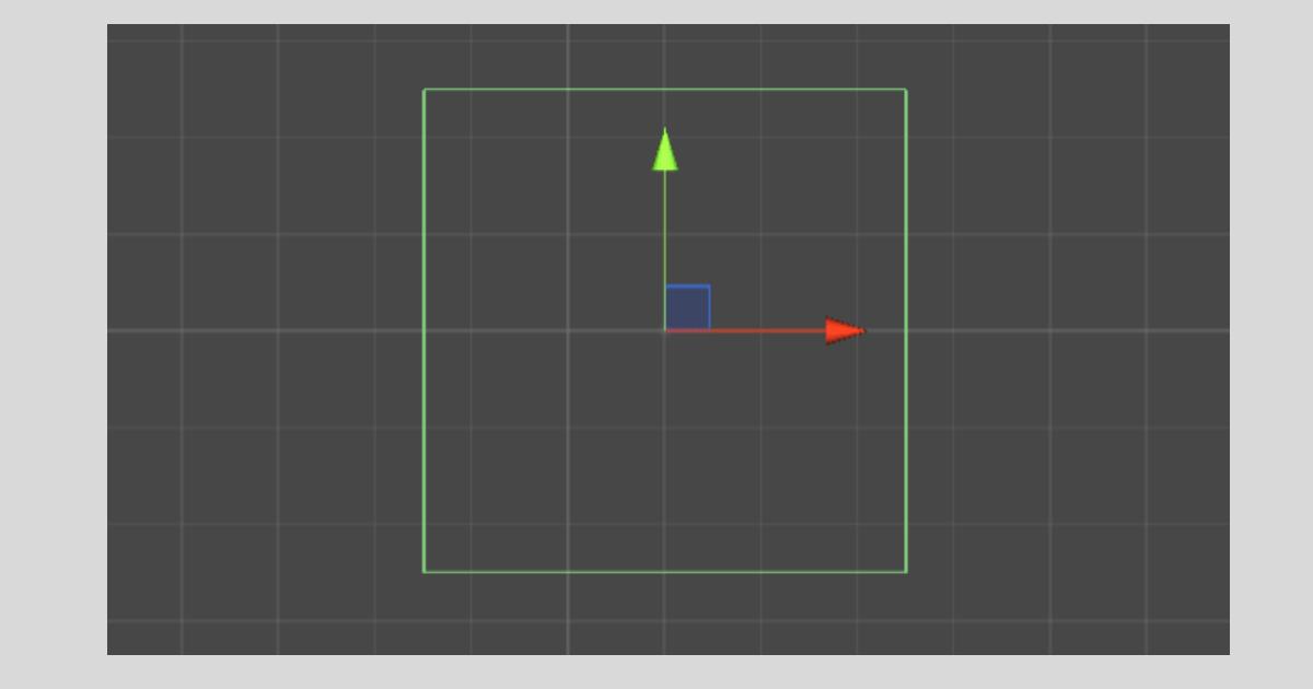 Unityの【Box Collider 2D】の様子
