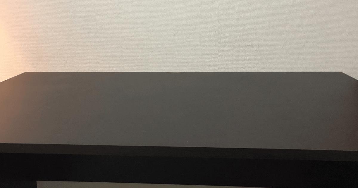 LALASTYLEの幅140cm・奥行き70cmのデスク
