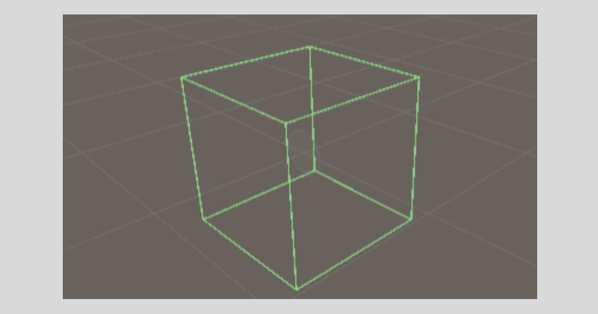 Unityの【Box Collider】の形状