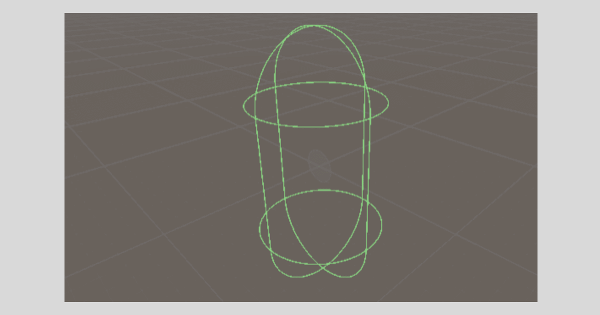 Unityの【Capsule Collider】の形状