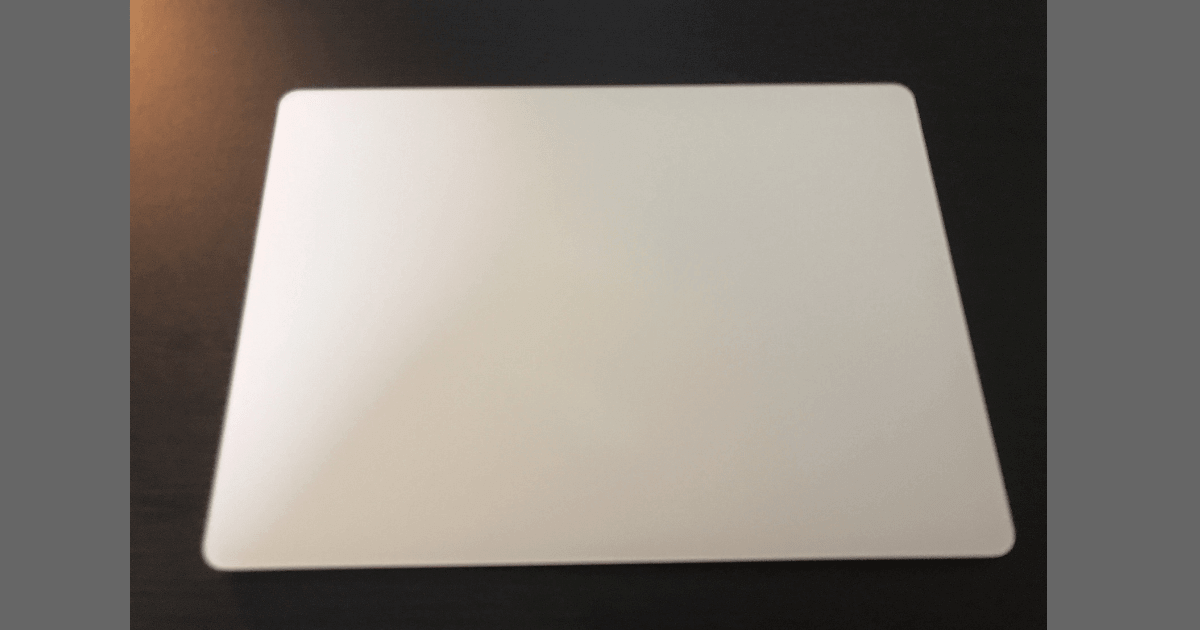 Magic Trackpad 2の様子