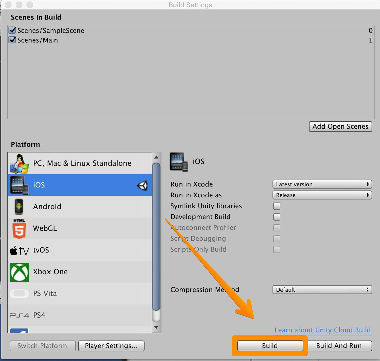 Unity製のアプリをiPhoneで実行テストする方法