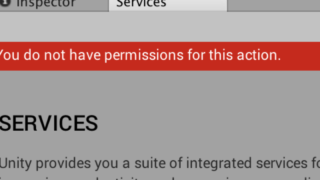You do not have permissions for this action