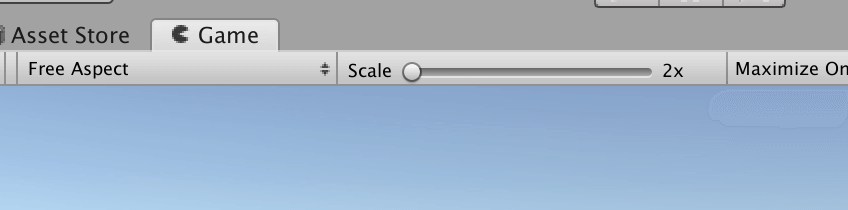 UnityでGameビューのScaleが2倍になっているのを直す