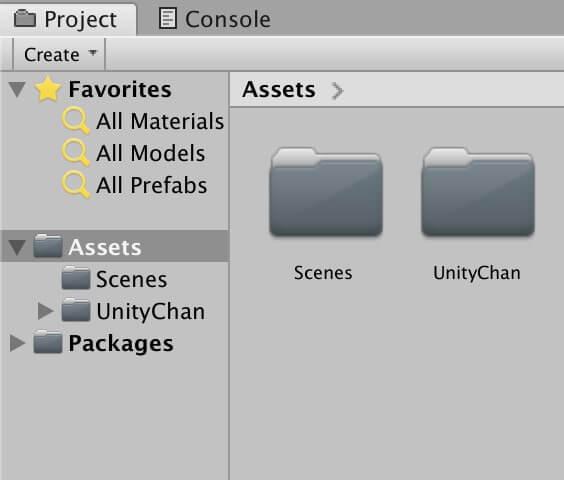 ユニティちゃんをダウンロードして、Unityにインポートする