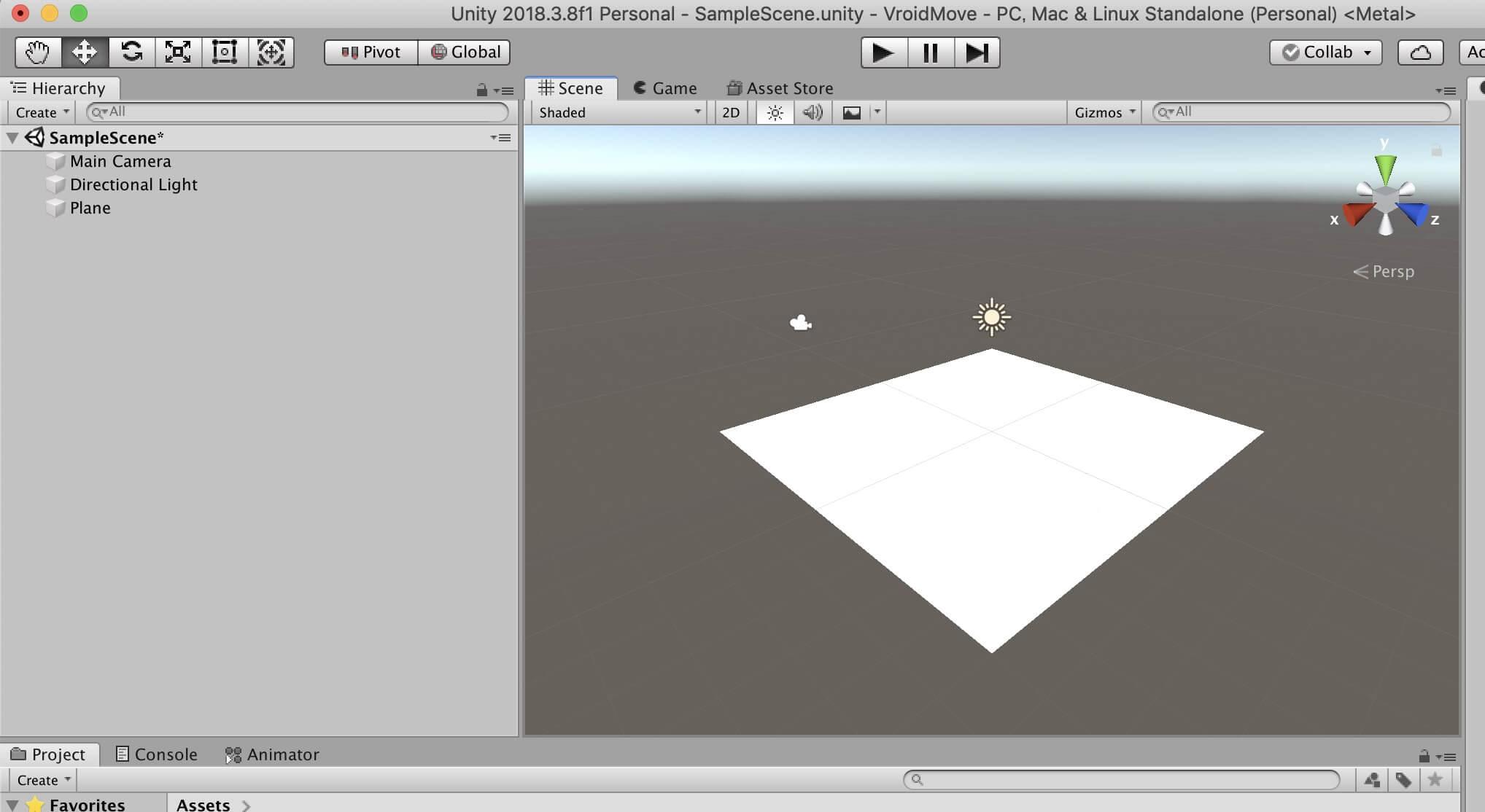 VRoidでキャラを動かすためのステージ作成