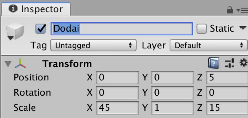 【Unity3Dチュートリアル】大まかな土台を作成する