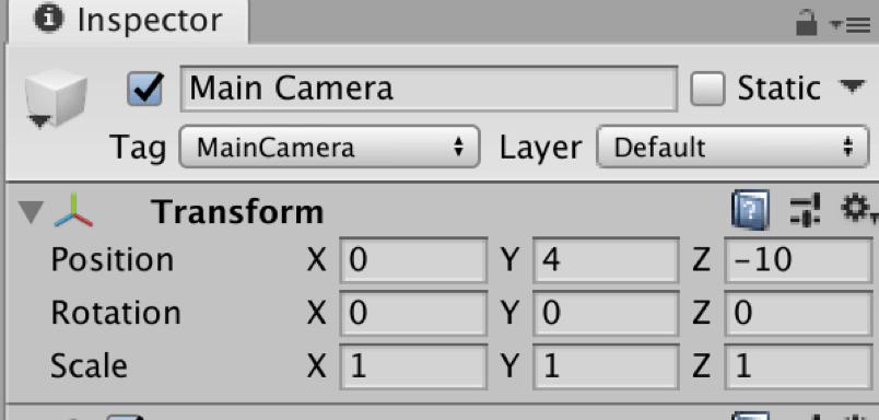 【Unity3Dチュートリアル】カメラを調整する