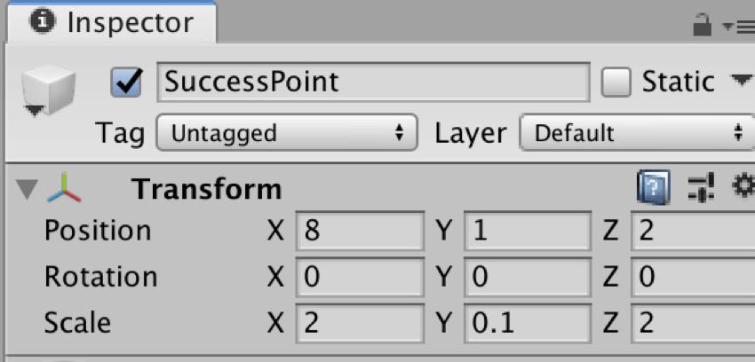 【Unity3Dチュートリアル】成功地点を作成する