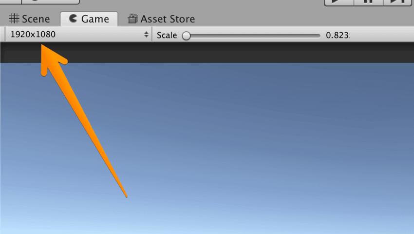 【Unity3Dチュートリアル】画面サイズを変更