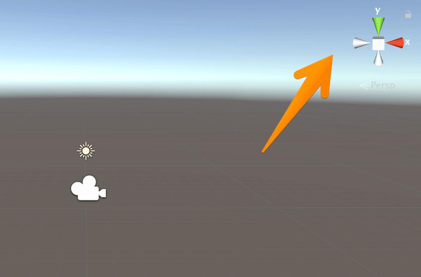 【Unity3Dチュートリアル】シーンビューの視点を変更